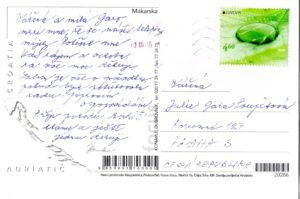 Hanka-pohlednice